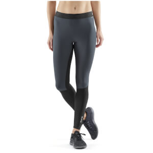 Skins Women's DNAmic Thermal-Windproof Starlight Tights - Black/Charcoal