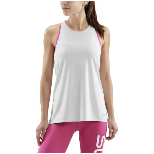 Skins Women's Siken Sports Tank Top - Silver Marle