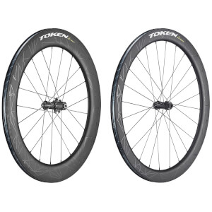 Token Konax Pro and Konax Tri Carbon Tubeless Ready Wheelset - Shimano