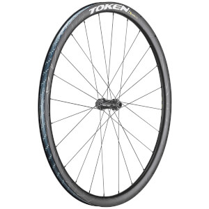 Token RoubX Prime Disc Carbon Tubeless Ready Gravel Wheelset - Shimano