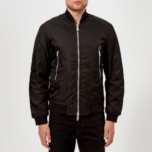Dsquared2 Men's Nylon Puffa Bomber Jacket - Black