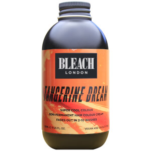 Crema de color semipermanente para el cabello Tangerine Dream Super Cool Colour de BLEACH LONDON 150 ml