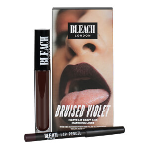 BLEACH LONDON Lip Kit Bruised Violet