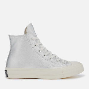 Converse Women's Chuck Taylor All Star '70 Hi-Top Trainers - Silver/Egret