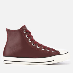 Converse Men's Chuck Taylor All Star Hi-Top Trainers - Dark Burgundy