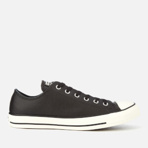 Converse Men's Chuck Taylor All Star Ox Trainers - Black/Egret