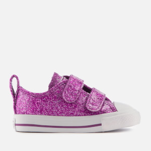Converse Toddlers' All Star 2V Ox Trainers - Icon Violet/White/White