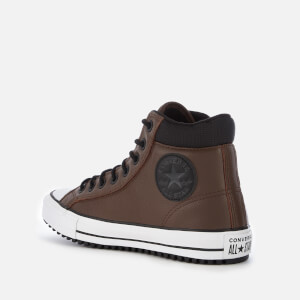 Converse Men's Chuck Taylor All Star PC Hi-Top Boots - Chocolate/Black/White: Image 2