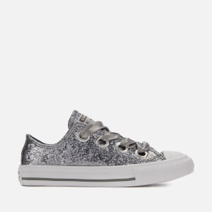 Converse Kids' Chuck Taylor All Star Big Eyelets Ox Trainers - Mason/White/White