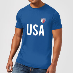 Toffs USA Country Men's T-Shirt - Royal Blue