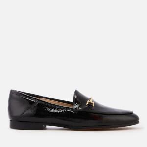Sam Edelman Women's Loraine Crinkle Patent Loafers - Black