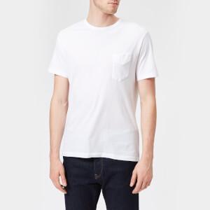 Officine Générale Men's Jersey Crew Neck T-Shirt - White