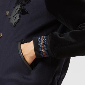 Coach 1941 Women's Varsity Jacket - Navy: Image 4