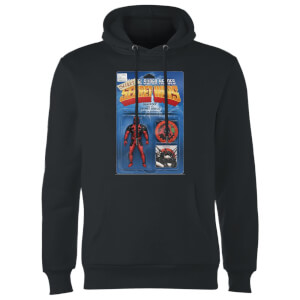 Marvel Deadpool Secret Wars Action Figure Hoodie - Black
