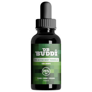 Dr Buddi CBD Oil 2500mg - 25% 10ml