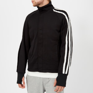 Y-3 Men's 3 Stripe Track Jacket - Black/Core White