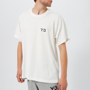 Y-3 Men's Signature Short Sleeve T-Shirt - Core White