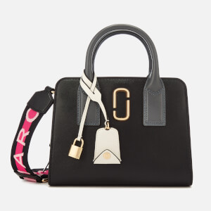 Marc Jacobs Women's Little Big Shot Tote Bag - Black/Multi