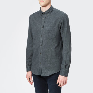 Acne Studios Men's Isherwood Melt Shirt - Carbon Grey