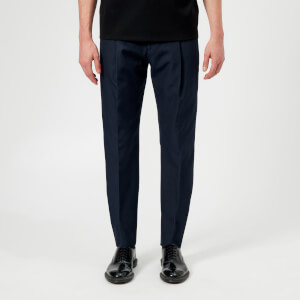 Acne Studios Men's Boston Poly Cotton Trousers - Dark Blue