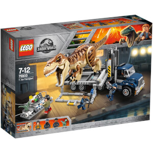 LEGO Jurassic World: T. rex Transport (75933)