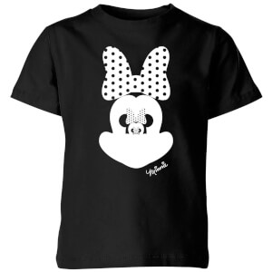 Camiseta Disney Mickey Mouse Minnie Ilusión Espejo - Niño - Negro
