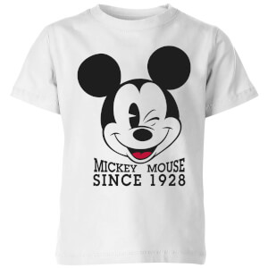 Disney Since 1928 Kinder T-Shirt - Weiß