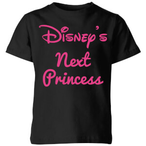 Disney Princess Next Kids' T-Shirt - Black