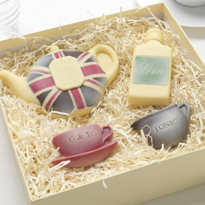 Choc on Choc There's Gin in my Teapot Chocolate Gift Set