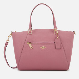 Coach Women's Polished Leather Prairie Satchel - Rose