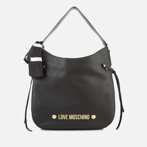 Love Moschino Women's Slouch Hobo Bag - Black