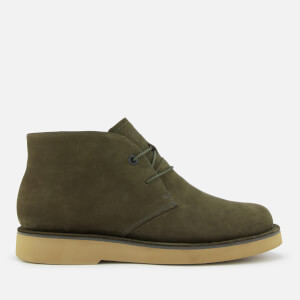 Camper Men's Tyre Desert Boots - Dark Green