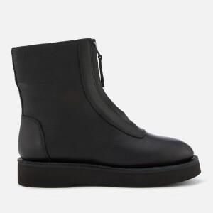 Camper Women's Platform Ankle Boots - Black