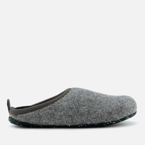 Camper Women's Wabi Wool Slippers - Light Pastel Grey