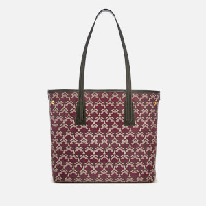 Liberty London Women's Iphis Marlborough Tote Bag - Oxblood