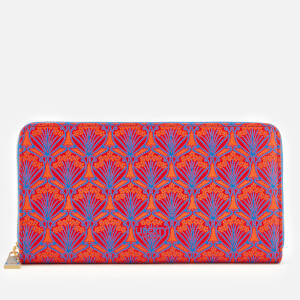 Liberty London Women's Iphis Large Zip Wallet - Red