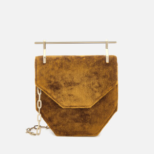 M2Malletier Women's Mini Amor Fati Bag - Silk Velvet Gold Ochre