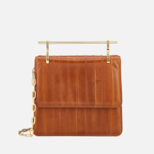 M2Malletier Women's Mini Collectionneuse Bag - Eel Peanut