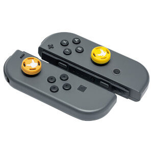 Nintendo Switch Analog Stick Caps - Pikachu + Eevee