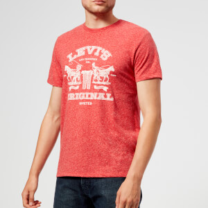 Levi's Men's 2 Horse Graphic T-Shirt - Orange