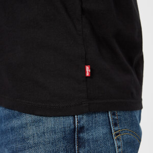 Levi's Men's Graphic Set In Neck 2 T-Shirt - Levi's Logo Black: Image 4