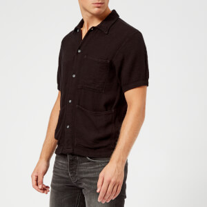 Nudie Jeans Men's Svante Worker Shirt - Black