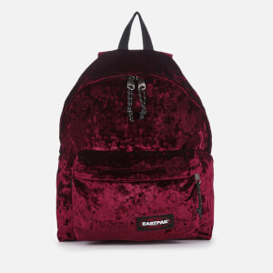 Eastpak Crushed Padded Pak'r Backpack - Crushed Merlot
