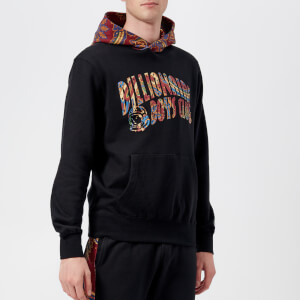 Billionaire Boys Club Men's Paisley Contrast Popover Hoody - Black