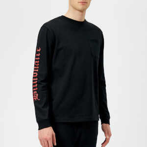 Billionaire Boys Club Men's College Long Sleeve T-Shirt - Black