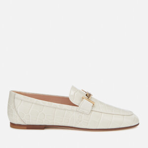 Tod's Women's Leather Loafers - White