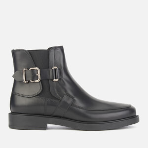 Tod's Women's Flat Ankle Boots - Black