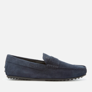 Tod's Men's Leather Driving Shoes - Navy