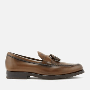 Tod's Men's Leather Tassel Loafers - Brown