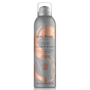 Gel de Duche Purificante com Carvão Shower Burst da Sanctuary Spa 200 ml